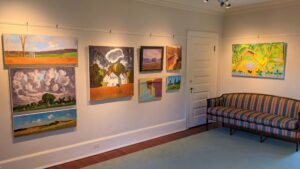 New Exhibit: Wednesday Artists Group @ The Liriodendron Mansion